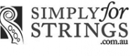Simply for Strings logo